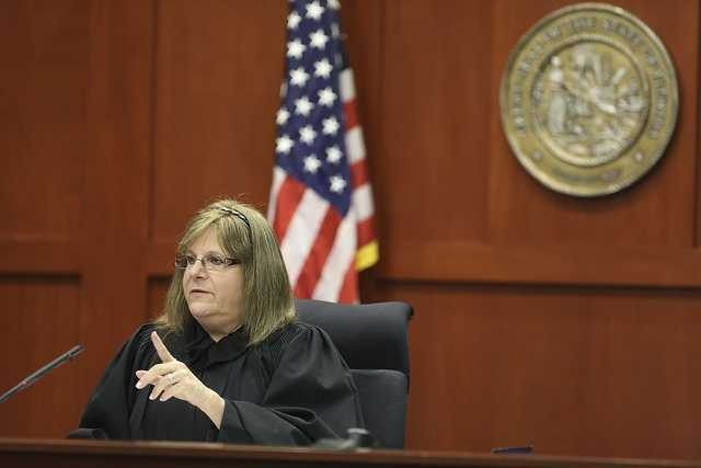 8. Judge scolds Don WestJudge Debra Nelson scolded West after he continued to argue when she had already made a ruling. See the videoOrlando Sentinel/Pool photo