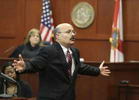 2. State attorney says Zimmerman's choices and profiling led to Martin's deathDe la Rionda drove home his point that several choices Zimmerman made and his assumptions about Martin ultimately led to Martin's death. He highlighted his points with Powerpoint slides.
