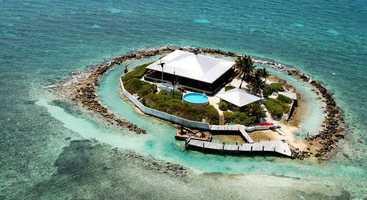 11. East Sister Rock Island, Marathon: $12,000,000