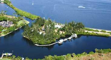 10. Twichell Island, Stuart/St. Lucie Inlet: $5,950,000