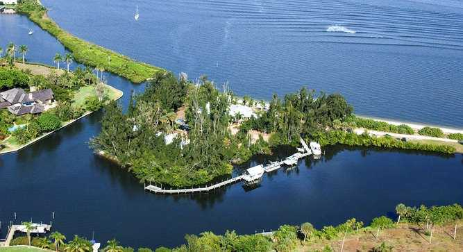 10. Twichell Island, Stuart/St. Lucie Inlet: $5,950,000