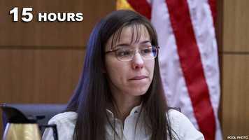 Jodi Arias: Guilty of murdering her boyfriend.