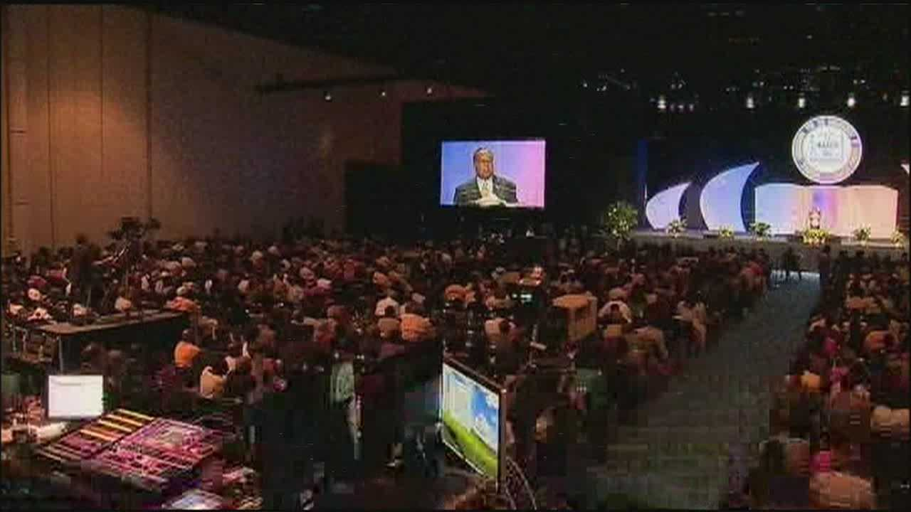 Hundreds from around the world are in Orlando for the 104th NAACP Convention.