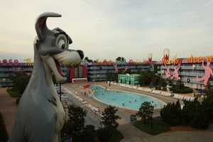 7. Disney's Pop Century Resort