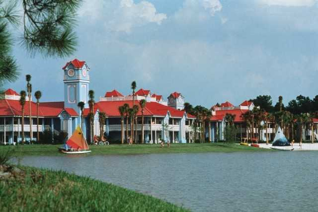 10. Disney's Caribbean Beach Resort