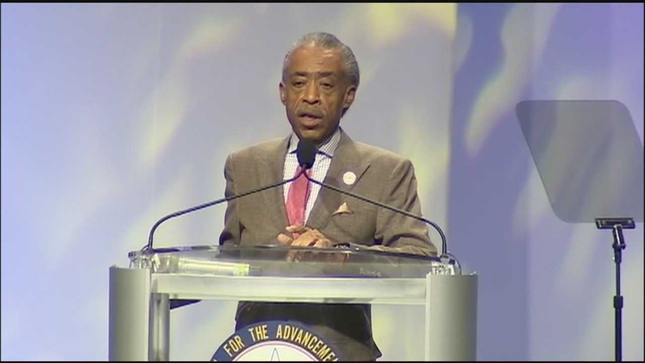 Al Sharpton, Jesse Jackson discuss Trayvon Martin during NAACP panel discussion