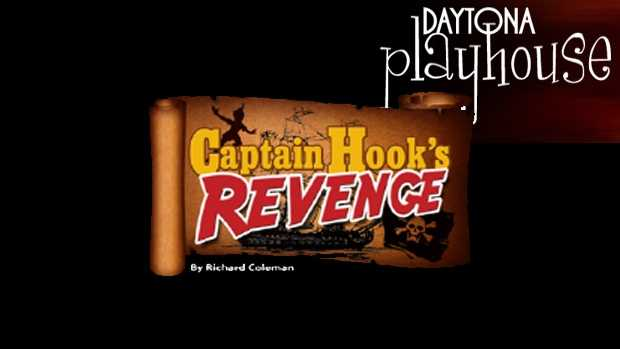 """Captain Hook: The Daytona Playhouse will host """"Captain Hook's Revenge"""" on Saturday and Sunday at 2 p.m. Tickets are $10 for adults and $5 for anyone and 18 and under."""