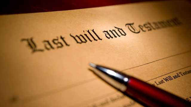will, legal papers, generic, estate planning