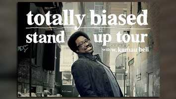 "Standup comedy: W. Kamau Bell brings his ""Totally Biased Stand Up Tour to Plaza Live on Saturday at 8 p.m. Tickets are $25."