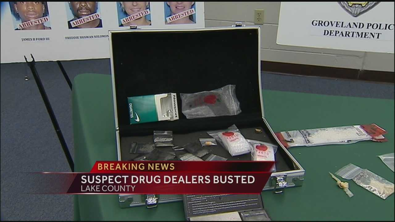 Dozens of suspected drug dealers face charges in Lake County after a sting.