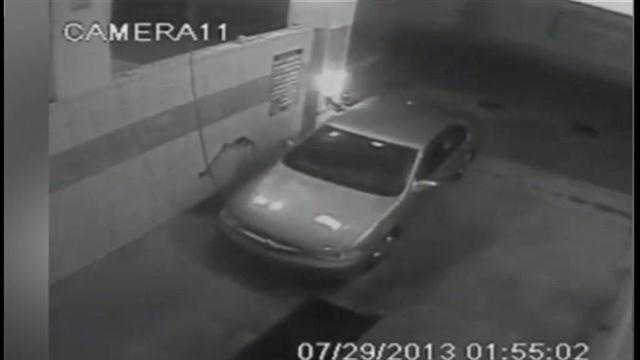 Deputies in Hillsborough County are looking for two people who were seen on surveillance video using a cutting torch to steal money from coin machines.