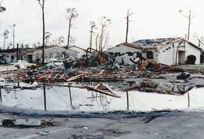1992: Twenty-six people died during in Hurricane Andrew.