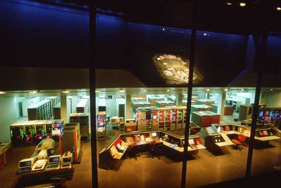 Some of the exhibits guests could enjoy were Epcot Computer Central (pictured), Energy Exchange, FutureCom, Electronic Forum and TravelPort.