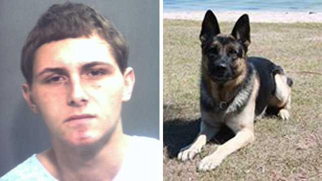 Landon Barnes and Seabee the dog.jpg