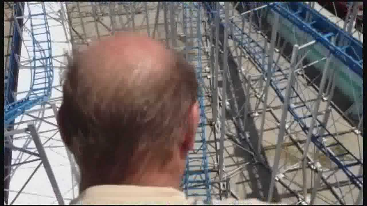 The first roller coaster ever on Daytona Beach has opened.