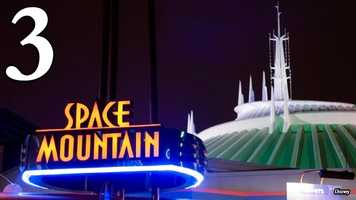 Space Mountain: The wait is sometimes long, but it's always air-conditioned. The dark, cool walkway to Disney's famous indoor roller coaster is a perfect reprieve from the heat, so long as it's thrilling ride doesn't make you sweat.