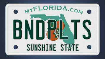 Since 2002, the Florida Department of Highway Safety and Motor Vehicles has reviewed over 2,300 custom license plates. Here's a list of some of the plates that got rejected. (See our previous list here)