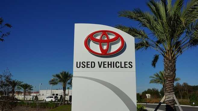 used Toyota dealers