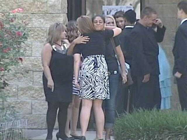 April 23, 2011: The funeral for Seath Jackson is held at the First Baptist Church in Summerfield.