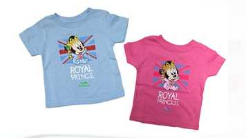 Epcot's World Showcase is now showcasing some royal baby-inspired attire. In honor His Royal Highness Prince George of Cambridge, royal baby merchandise is now available at the United Kingdom pavilion for all of the little Disney princes and princesses out there.