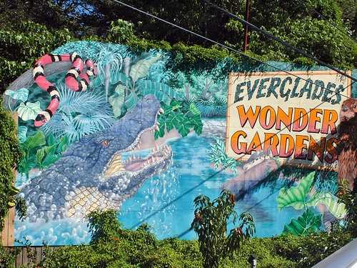 Everglades Wonderland Gardens in Bonita Springs: Founded in 1936, the attraction has been a focal point of Bonita Springs since Bill and Lester Piper created the facility to rehabilitate injured animals. The park has remained in the Piper family ever since and has become a place for visitors to enjoy the botanical gardens and see Florida's wildlife.