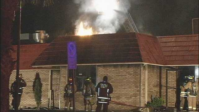 Fire tore through the popular Oviedo Diner overnight and firefighters were not able to save it from heavy damage.