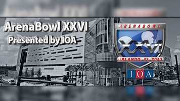 ArenaBowl XXVI: Arizona and Philadelphia meet Saturday at Orlando's Amway Center for the Arena Football League championship.