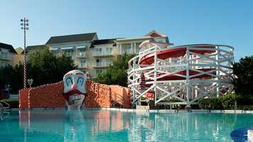 Our friends at the Disney Parks Blog have ranked the Top 5 water play areas at Disney. See what they are.5. Luna Park Pool, Disney's BoardWalk Inn - Features: Keister Coaster water slide, elephant statues, kiddie pool.