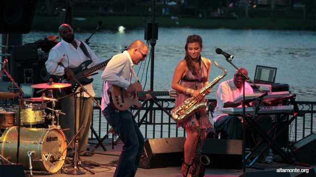 Jazz concert: Jazz Jams at Uptown Altamonte is a free concert series at Cranes Roost Park starting at 7 p.m.