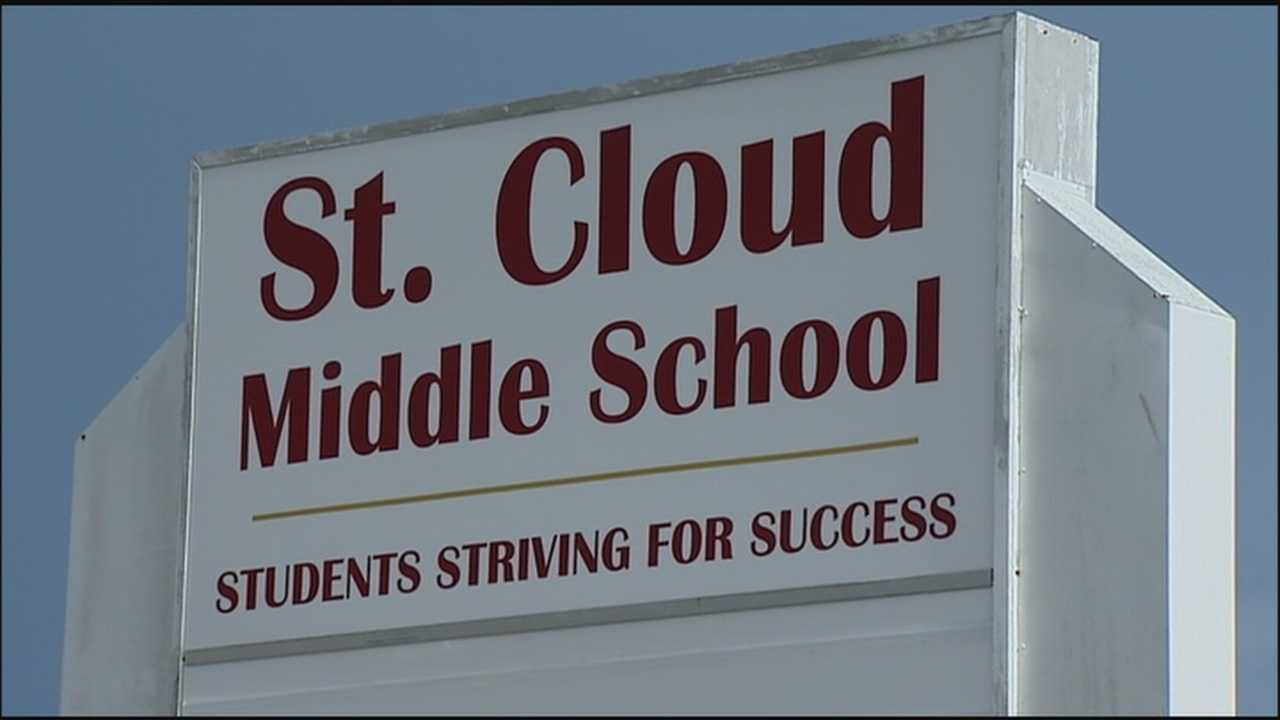 Two students said they were forced to urinate in a classroom full of students during a voluntary lockdown at St. Cloud Middle School.