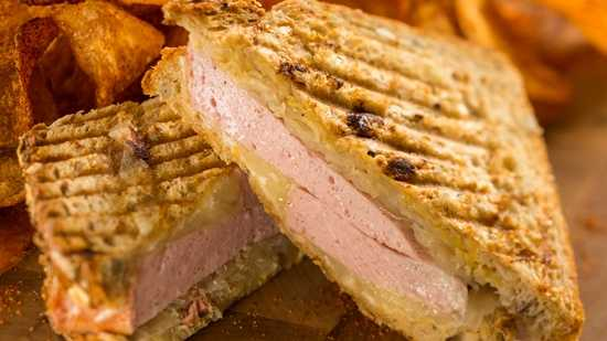 A grilled leberkaese, or German meatloaf, Reuben with sauerkraut and Swiss is also new at Sommerfest.