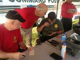 "The annual ""Kicks for Guns"" event kicked off across central Florida on Thursday."