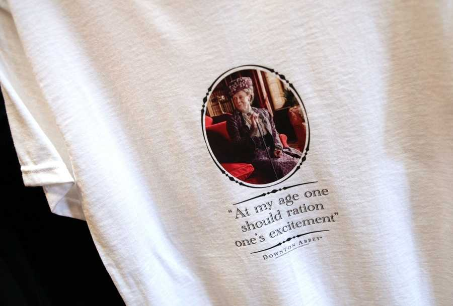 """Downtown Abbey fans, rejoice! There are some neat new items in the United Kingdom Pavilion at Epcot. You might need to """"ration your excitement"""" because you'll also find clothes inspired by Doctor Who and Monty Python. Take a look!"""