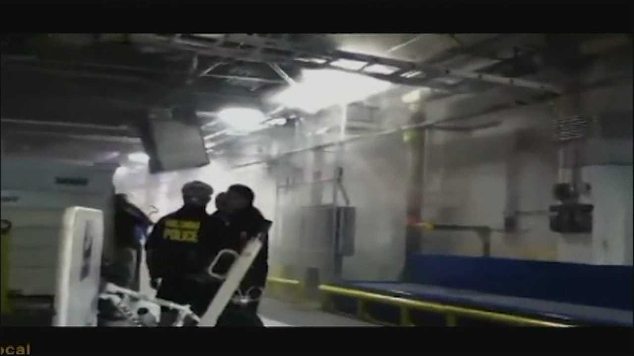 Conveyor belt malfunctions at OIA, begins smoking