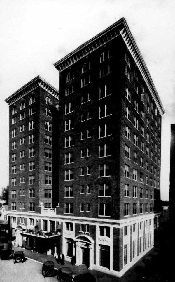 The Angebilt Hotel on North Orange Avenue was completed in 1923 for Joseph Ange at a cost of $1 million.