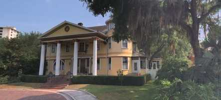 The home was acquired by the Courtyard at Lake Lucerne and is now a bed and breakfast but also host to several weddings.
