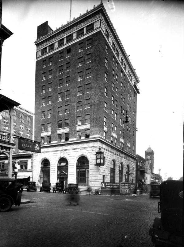 The State Bank of Orlando and Trust Company was formed in 1893 and this building was completed in 1924.