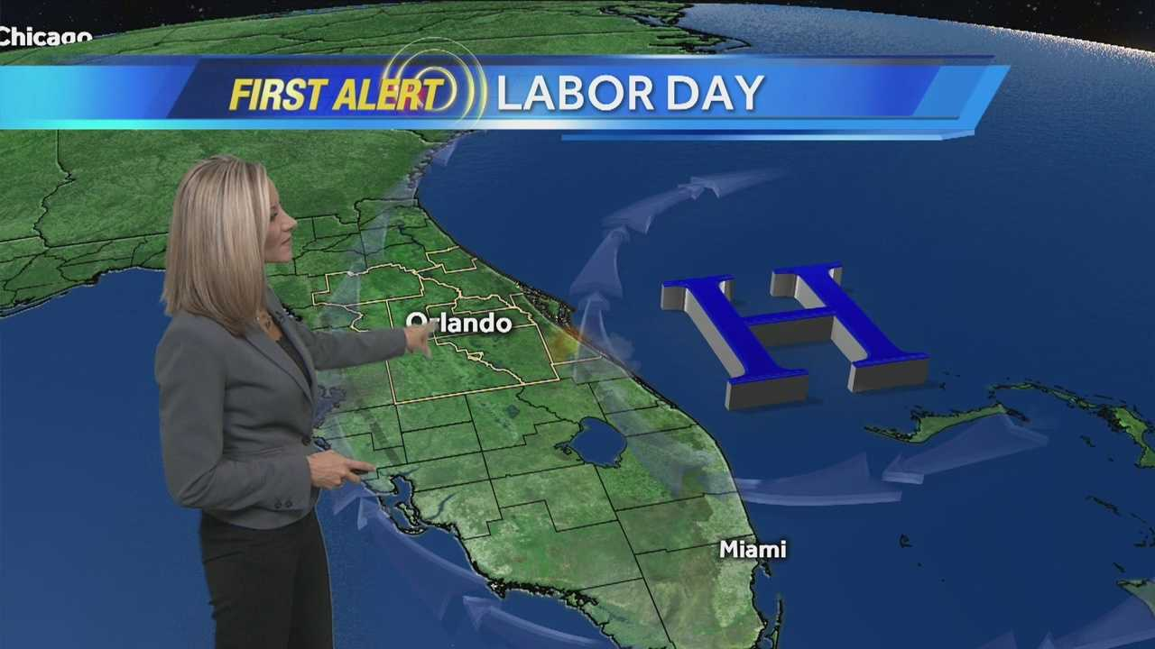 First Alert Chief Meteorologist Amy Sweezey has your forecast.