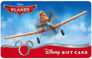 """Whether you need a birthday gift or you're starting your holiday shopping early, a Disney gift card is a good idea for any Disney lovers on your list. Disney Gift Cards has revealed 14 new designs, including this """"Planes"""" design featuring Dusty. Purchase them here."""