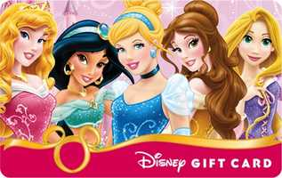 For the princess if your life, there are nine new gift cards showcasing the Disney princesses.