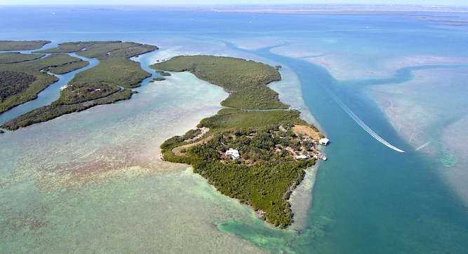 1. Broad Key Island, Key Largo: $20,000,000