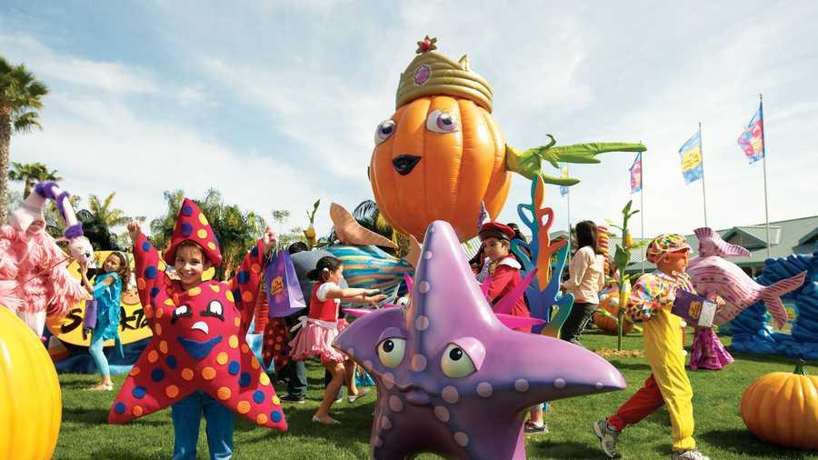 Image result for seaworld halloween spooktacular