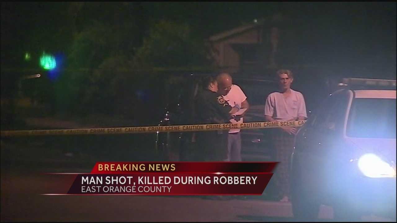 Gunshots erupt during armed robbery