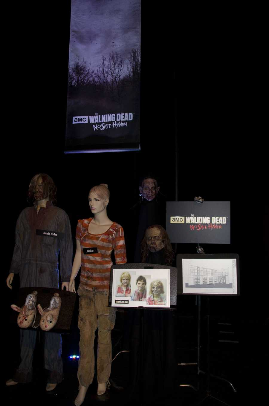 """The Walking Dead"" returns to Halloween Horror Nights in ""The Walking Dead: No Safe Haven."""
