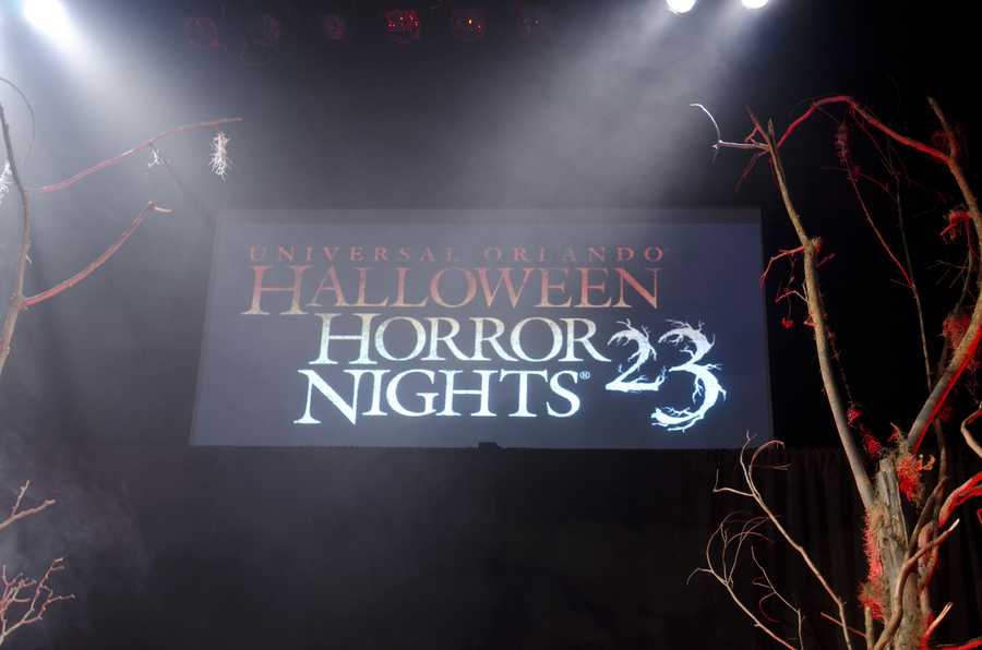 Halloween Horror Nights at Universal Orlando begins on Sept. 20.  Take a look at what you can expect to see at this year's event.
