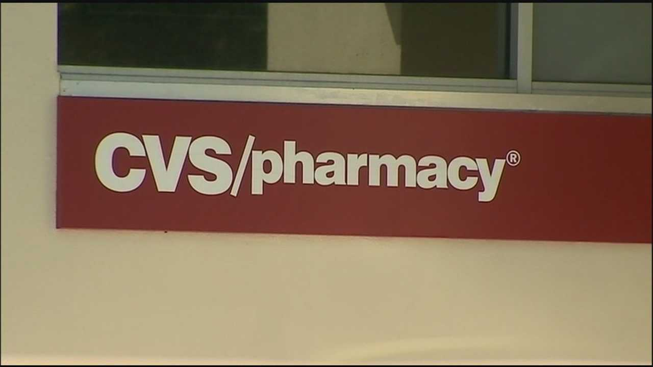 Police are still searching for the man that robbed a CVS pharmacy around 9:30 p.m. last night.