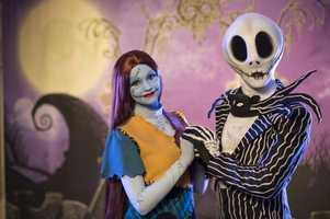 "Pumpkin King Jack Skellington and Sally have made their debut at Mickey's ""Not-So-Scary"" Halloween Party at Magic Kingdom."
