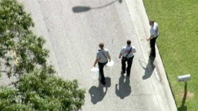 Seminole County Fire and Rescue dispatched three units to the Greenbriad Boulevard home about 2:45 p.m.