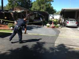 Orange City police are on the scene of a double shooting where one person is dead.