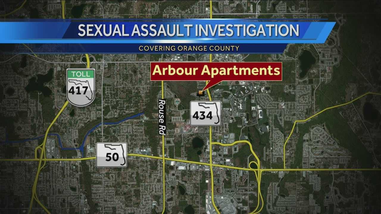 A woman was sexually assaulted near the University of Central Florida on Friday night, according to Orange County Sheriff's Office deputies.